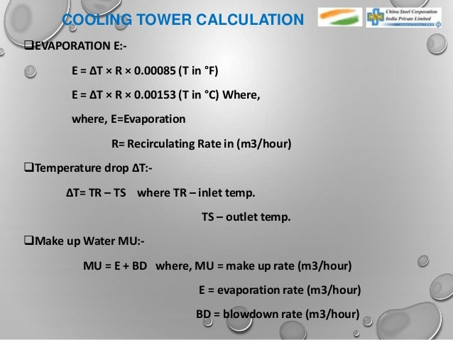 Cooling Tower & cooling water treatment
