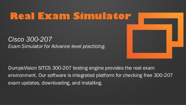 Cisco Best Practice Material For 300-207 Exam Q/&A PDF+SIM