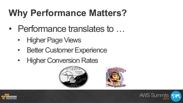 Why Performance Matters? • Performance translates to … • Higher Page Views • Better Customer Experience • Higher Conve...