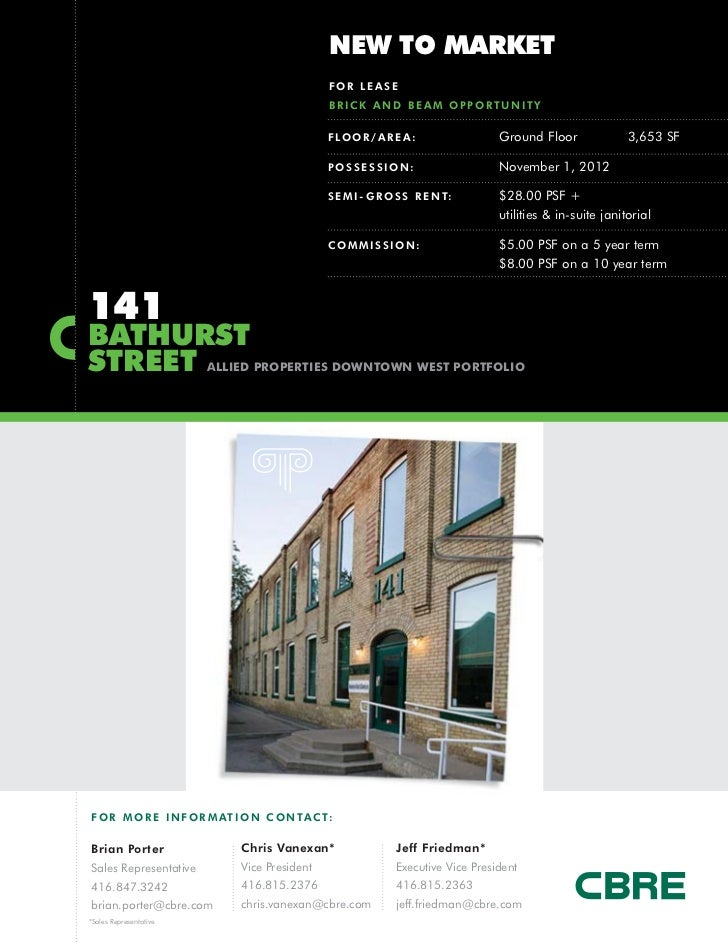 NEW TO MARKET                                               FOR LEASE                                               BRICK ...