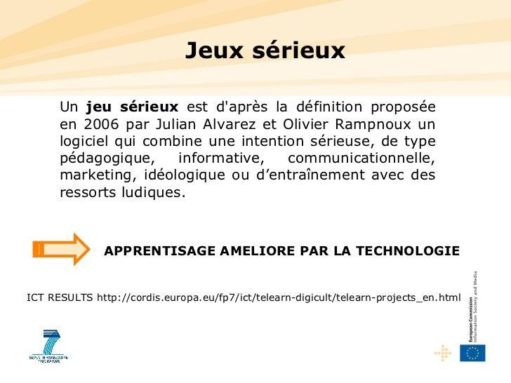 Europe 2014-2020: patrimoine & serious games (jeux sérieux) Slide 3