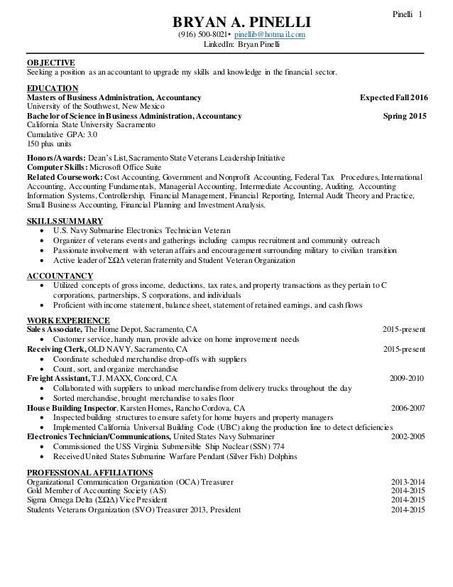 Best Resume In Accountancy Practice Contemporary - Best Resume ...