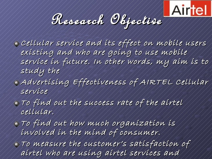research paper on airtel Internship experience @ airtel india,  company internship experience @ airtel india, delhi: learnt how a  junior senior i am the footnote in your research paper.