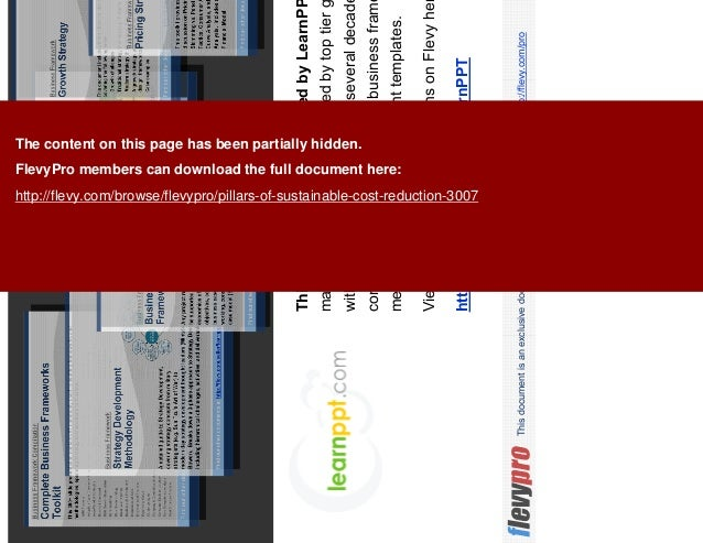19This document is an exclusive document available to FlevyPro members - http://flevy.com/pro This presentation was create...