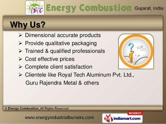 Combustion Equipment by Energy Combustion, Ahmedabad  Slide 3