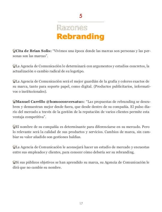 """Cita de Brian Solis: """"Vivimos una época donde las marcas son personas y las per- sonas son las marcas"""". La Agencia de Comu..."""