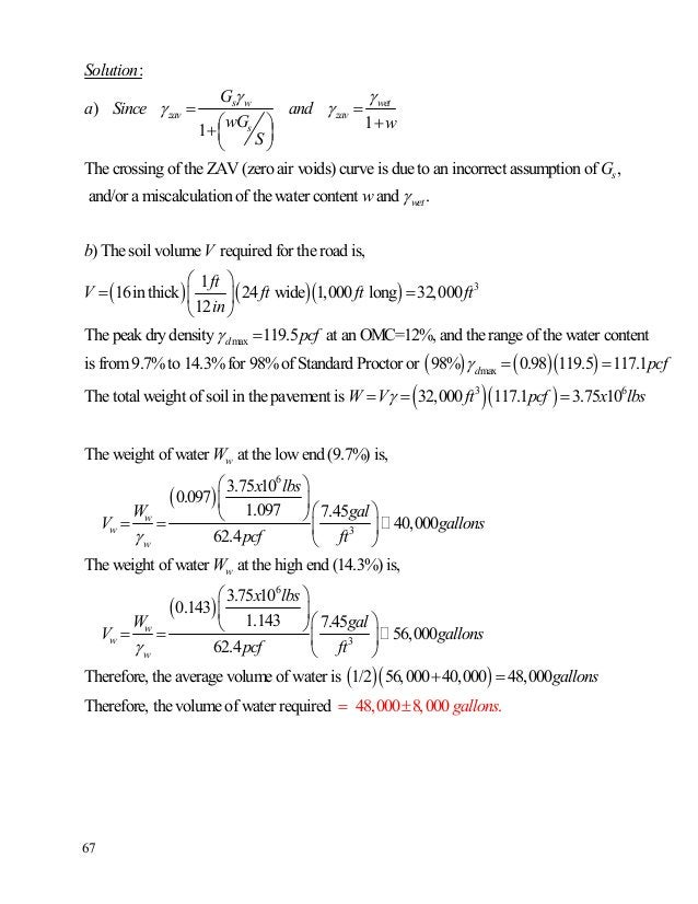 68 **Compaction-10: Find the family of saturation curves for compaction. (Revision: Oct.-08) This problem expands Compacti...