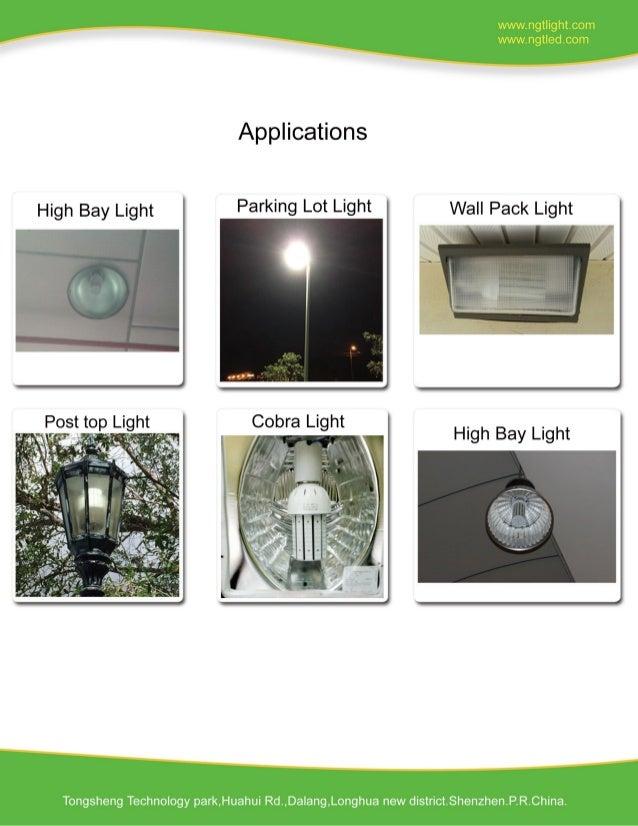 300W LED Corn Light External Power Specification