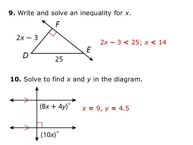 write and solve an inequality