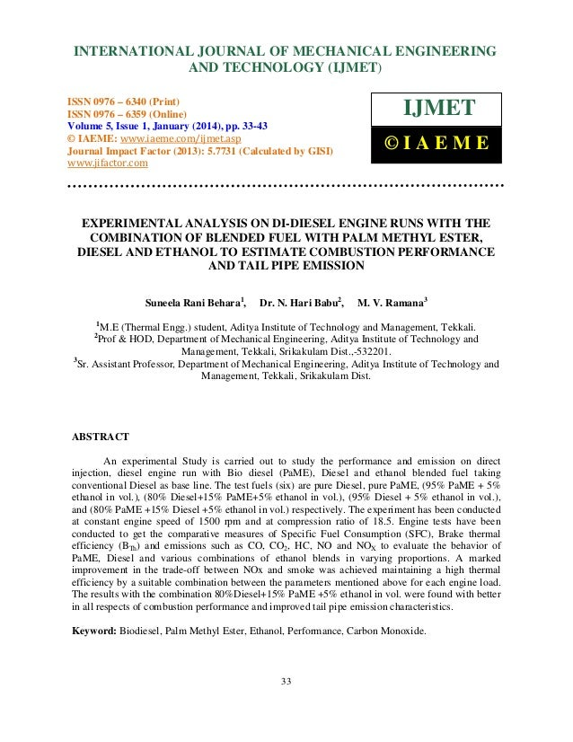 International Journal of Mechanical Engineering and Technology (IJMET), ISSN 0976 – INTERNATIONAL JOURNAL OF MECHANICAL EN...