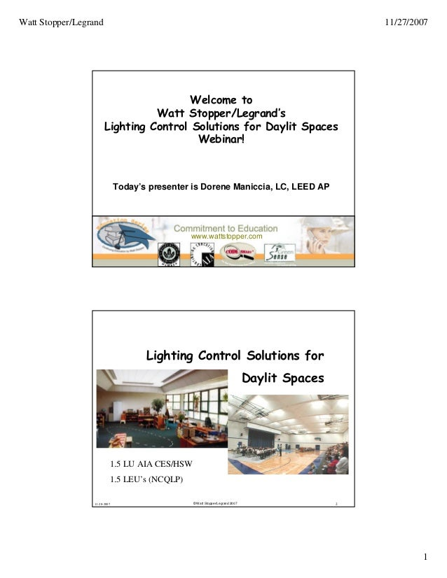 Light Control Solutions for Daylit Spaces on
