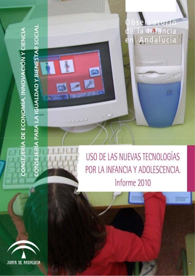 Hábitos de uso de las nuevas tecnologías en la infancia y adolescencia