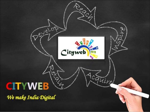 CITYWEB We make India Digital