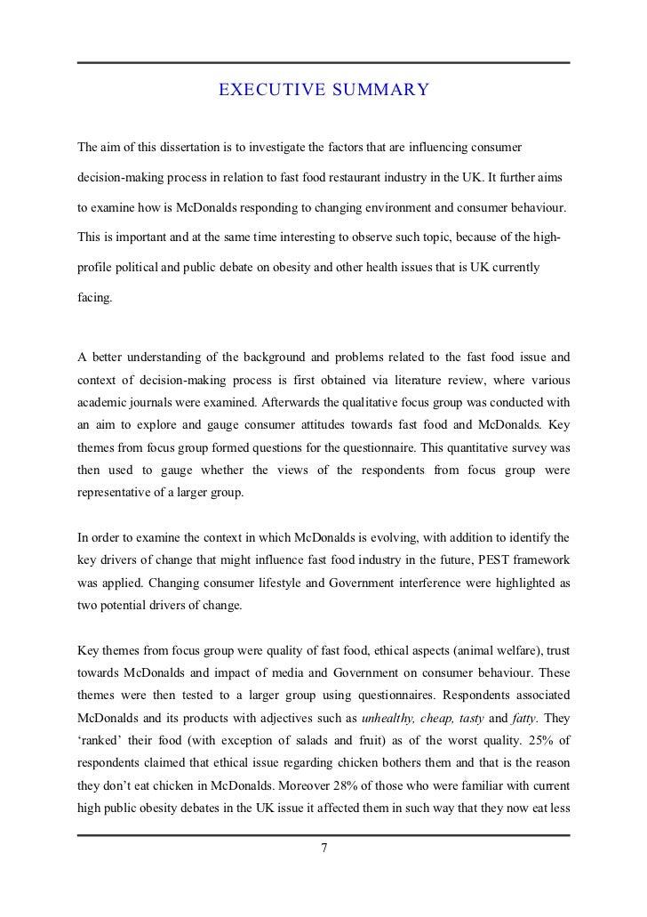 dissertation on consumer behaviour acirc different methods of creative dissertation university service learning