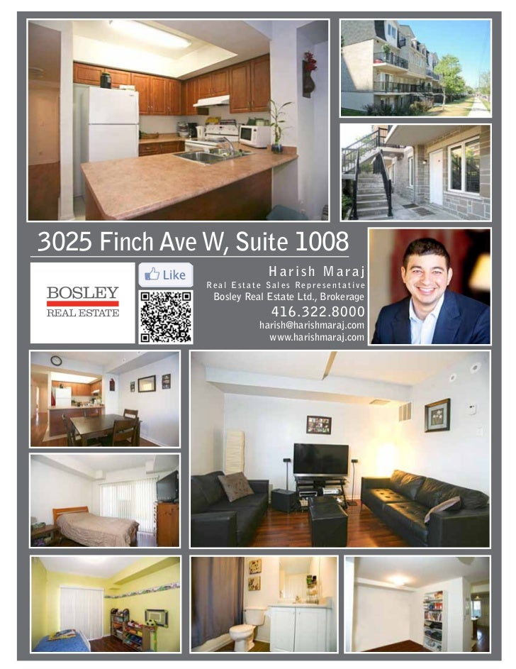 3025 Finch Ave W, Suite 1008                            Harish Maraj               Real Estate Sales Representative       ...