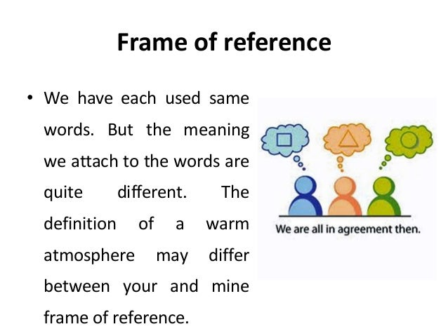 Frame of reference - transactional analysis - Manu Melwin Joy