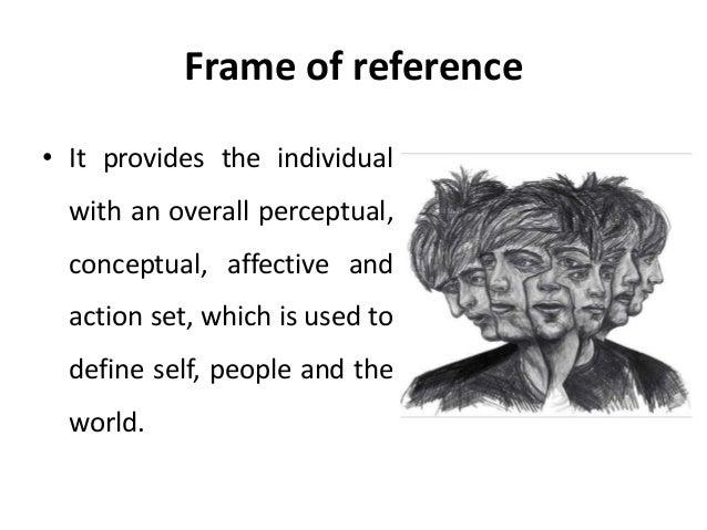 Frame of reference - transactional analysis - Manu Melwin Joy