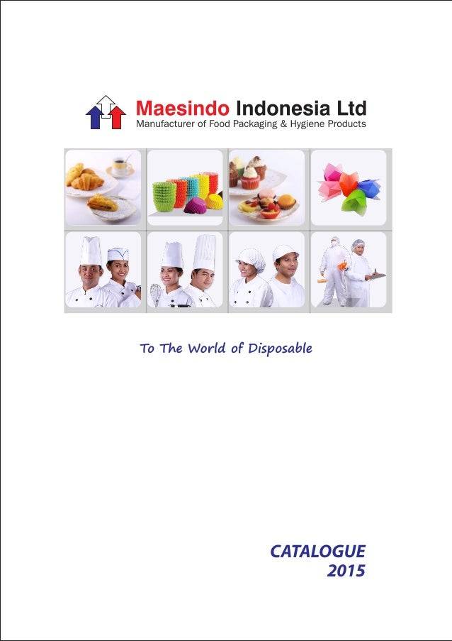 Maesindo Catalogue 2015