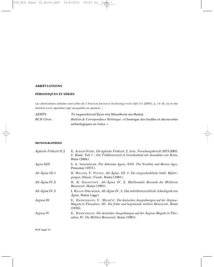 10                                                                                        ABRÉVIATIONSPalace of Nestor III...