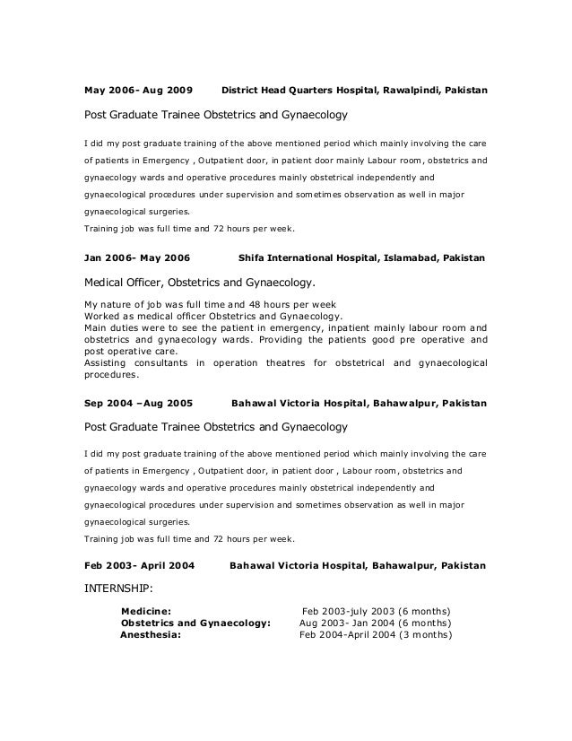 dr noreen jawad cv pdf