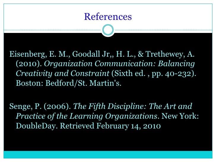 senge s five disciplines