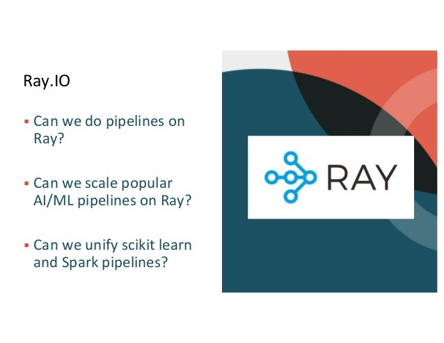 Scaling and Unifying SciKit Learn and Apache Spark Pipelines Slide 3