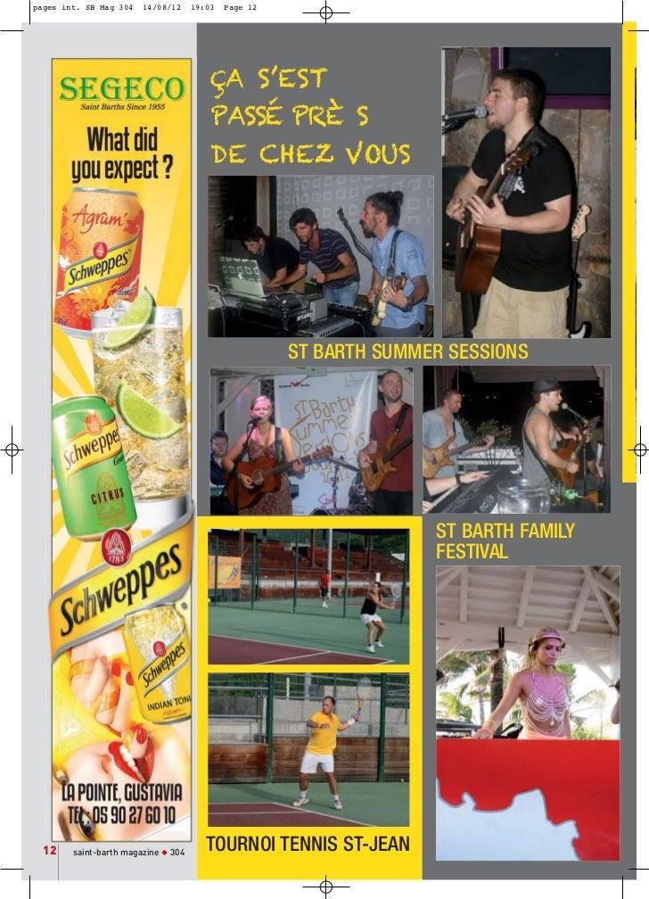 pages int. SB Mag 304   14/08/12     19:03   Page 12                                         ÇA S'EST                     ...