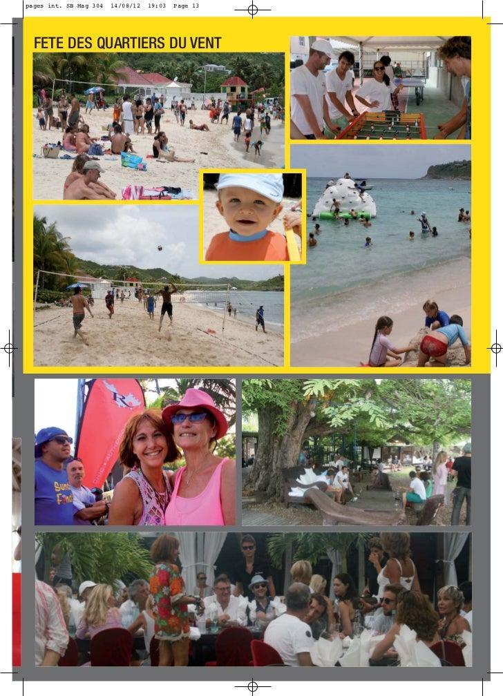 pages int. SB Mag 304   14/08/12   19:03   Page 13  FETE DES QUARTIERS DU VENT