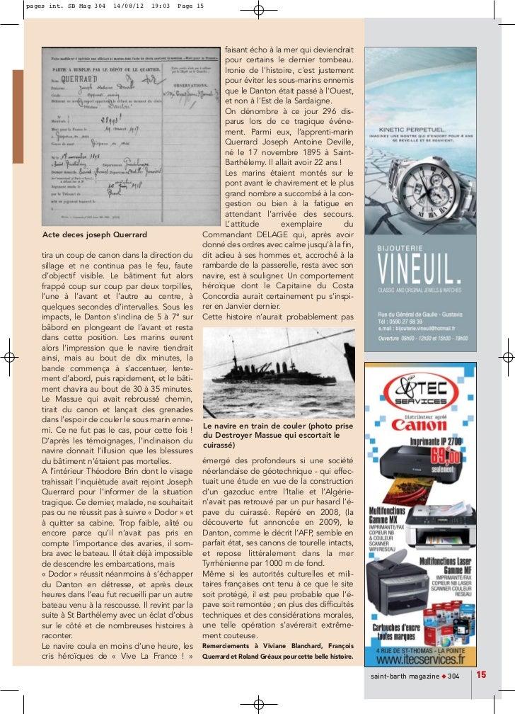 pages int. SB Mag 304   14/08/12   19:03   Page 15                                                          faisant écho à...