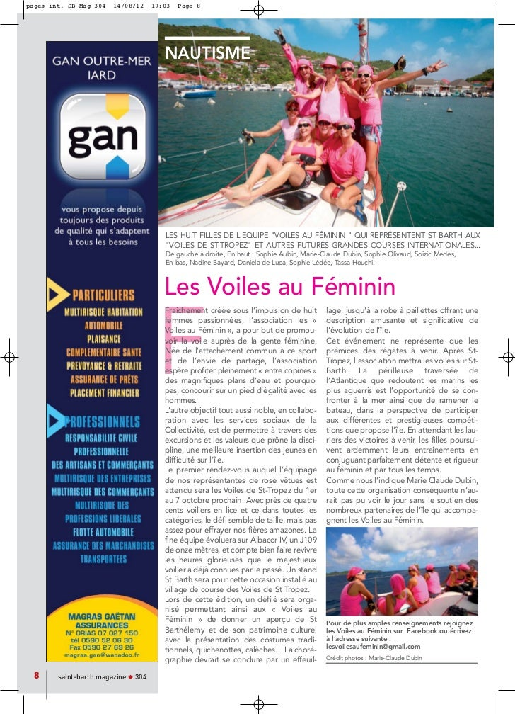pages int. SB Mag 304   14/08/12     19:03   Page 8                                        NAUTISME                       ...