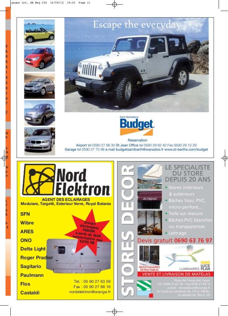 pages int. SB Mag 304   14/08/12   19:03   Page 118696818507072nen-z-deserte a-ci- L                    AGENT DES ECLAIRAG...