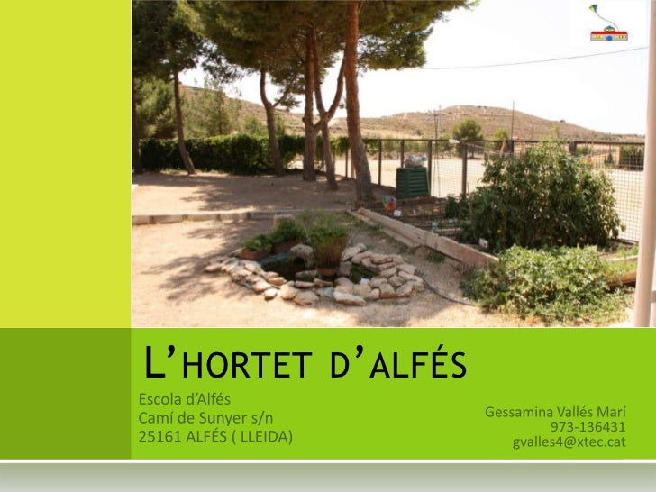 L' HORTET D ' ALFÉS