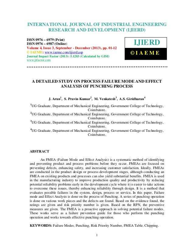 International Journal of Industrial Engineering and Development (IJIERD), INTERNATIONAL JOURNAL 4,ResearchSeptember - Dece...