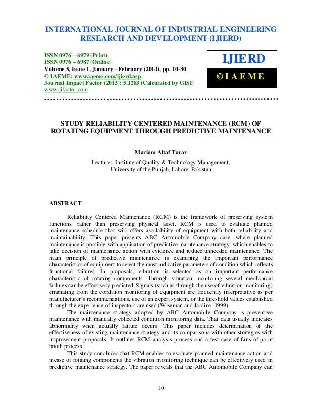 International Journal of Industrial Engineering Research and Development (IJIERD), ISSN 0976 – INTERNATIONAL JOURNAL OF IN...