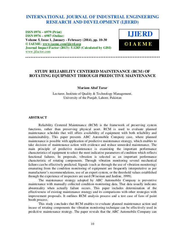 International Journal of Industrial Engineering Research and Development (IJIERD), ISSN 0976 – INTERNATIONAL JOURNAL OF IN...