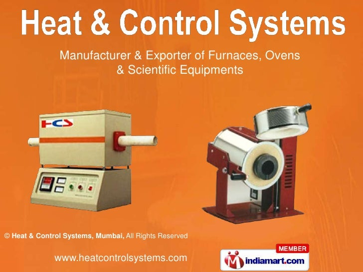 Manufacturer & Exporter of Furnaces, Ovens <br />& Scientific Equipments<br />