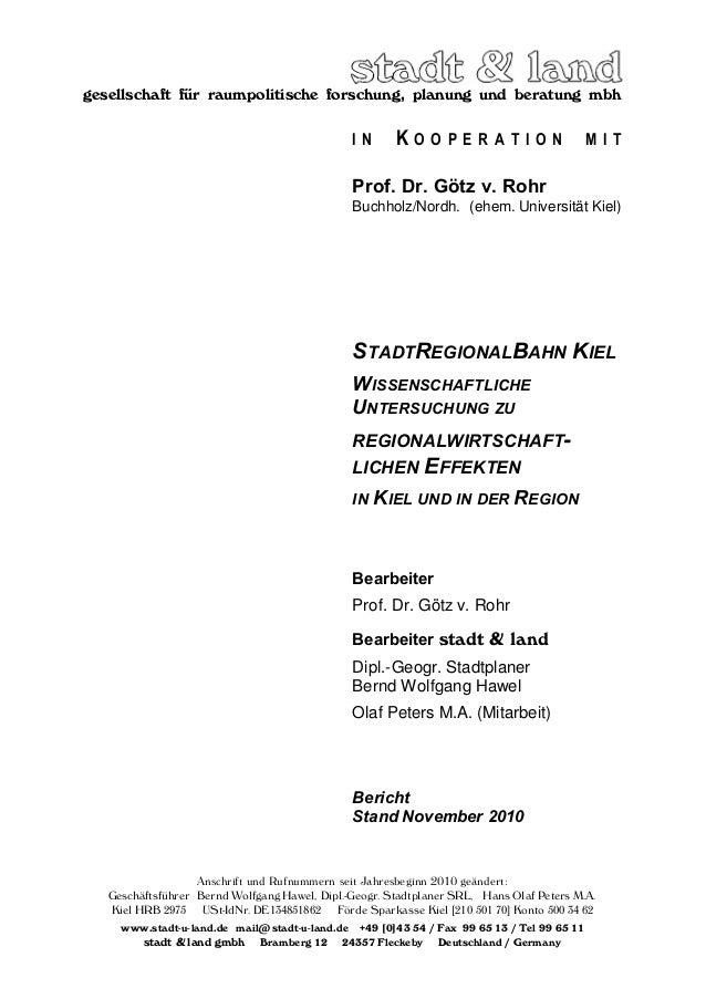 gesellschaft für raumpolitische forschung, planung und beratung mbh Anschrift und Rufnummern seit Jahresbeginn 2010 geände...