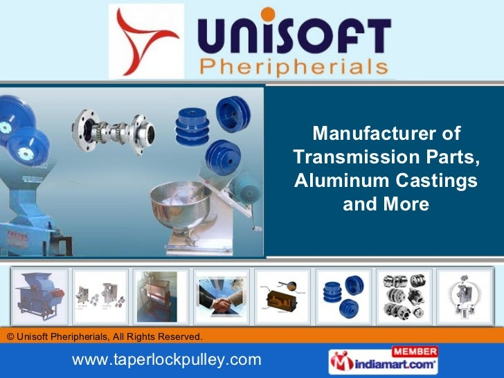 Manufacturer of Transmission Parts, Aluminum Castings and More