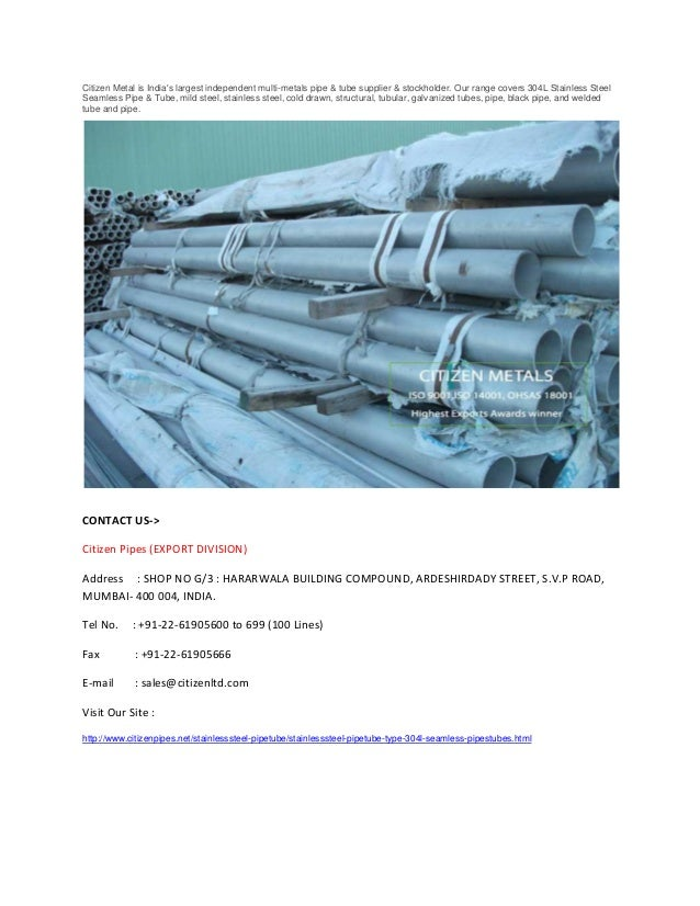 304 l stainless steel erw pipe Slide 2