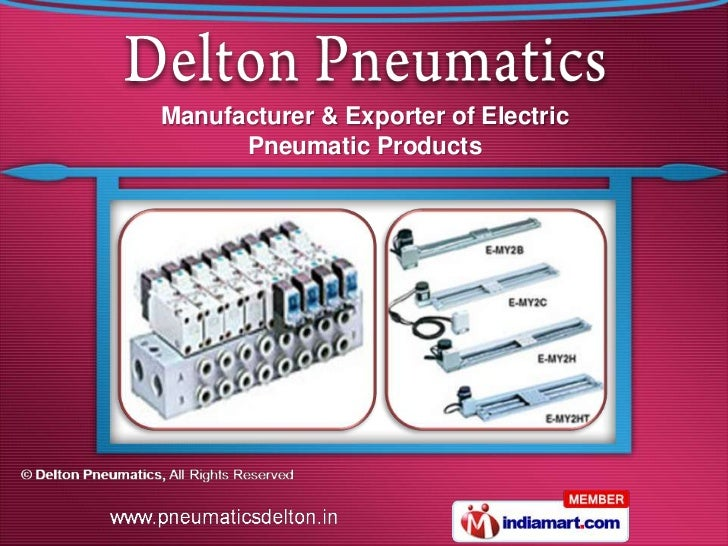Manufacturer & Exporter of Electric      Pneumatic Products