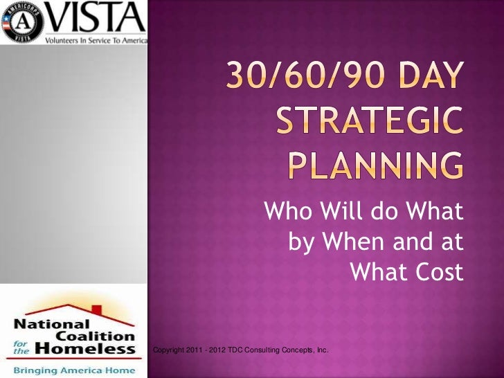 30*60*90 Day Planning