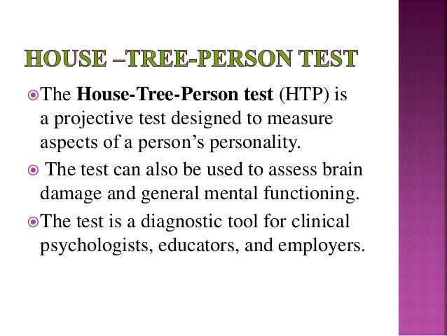 House tree person projective assessment