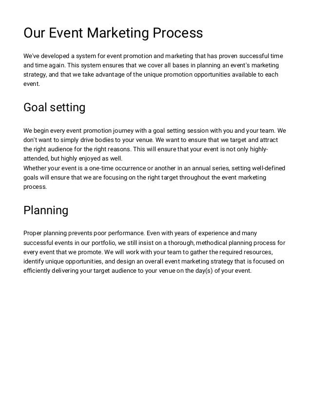 Event Proposal Templates Write Event Proposal Letter HttpWww