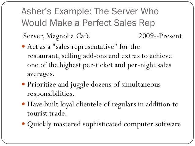 Resume Makeover (Business Writing English 307)