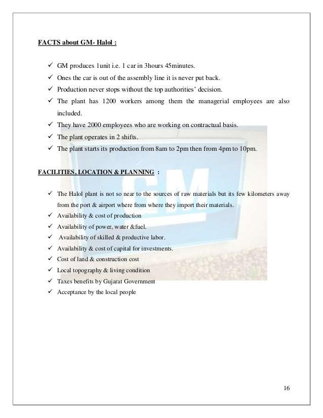 Operations management at hyundai motor