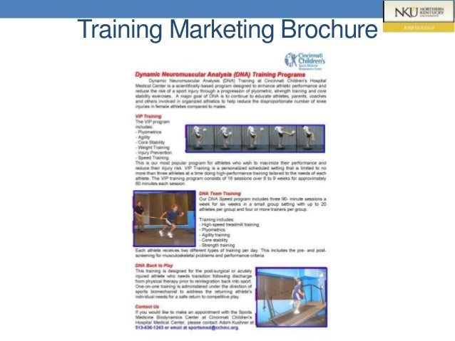 Training Marketing Brochure