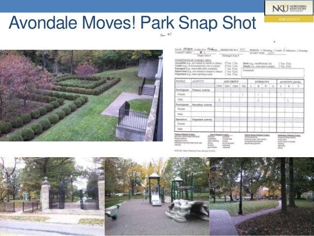 Avondale Moves! Park Snap Shot