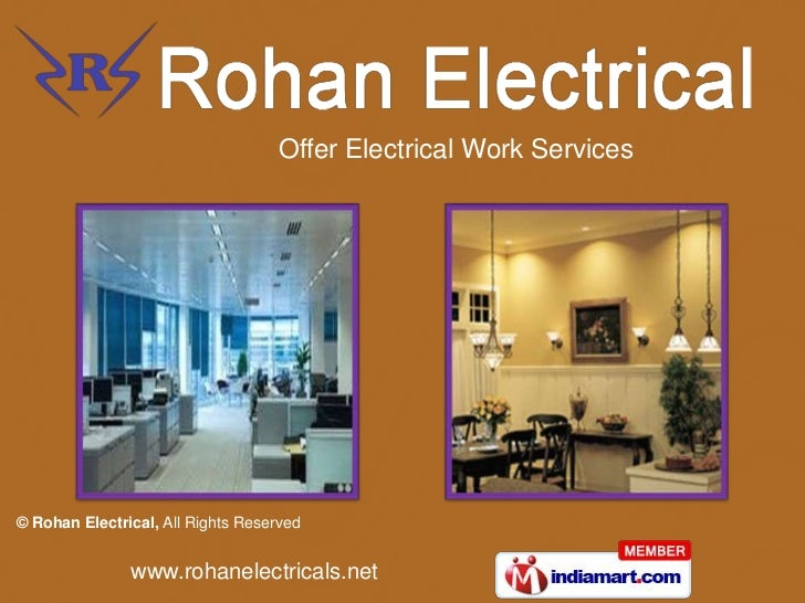 Offer Electrical Work Services<br />