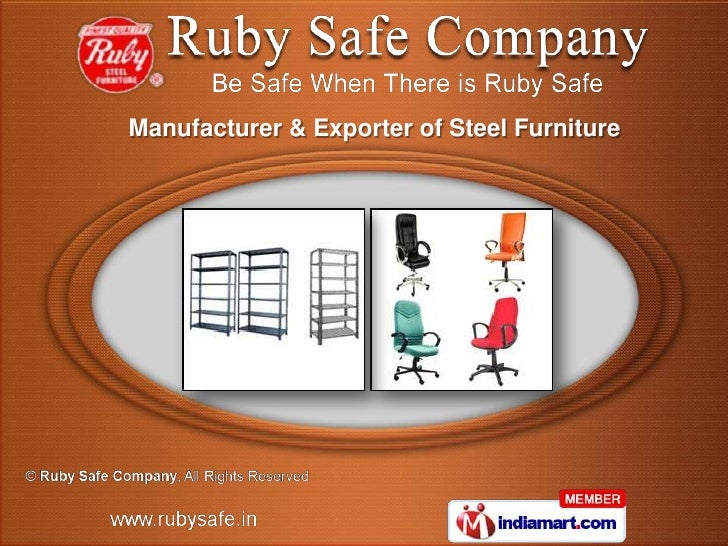 Manufacturer & Exporter of Steel Furniture