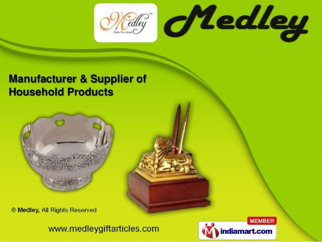 Manufacturer & Supplier ofHousehold Products